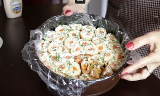 готовим салат пикантный