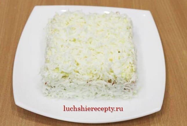 готовим салатик новогодний подарок