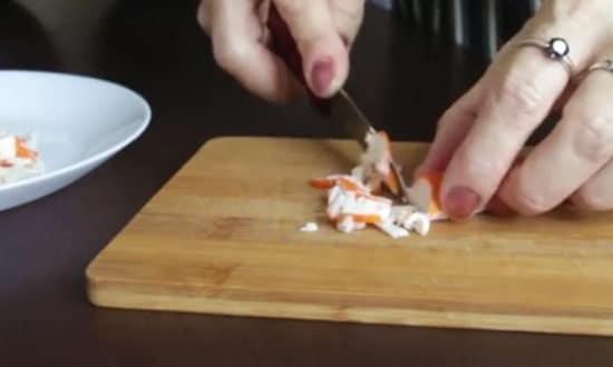 готовим салатик свежесть