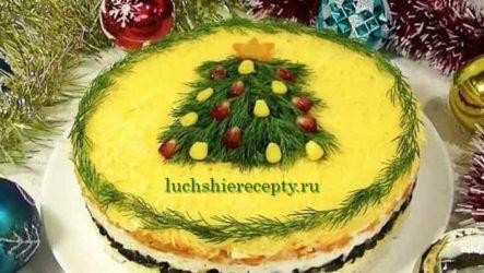 Новогодние салаты 2020 новинки - 15 рецептов с фото и подробным описанием