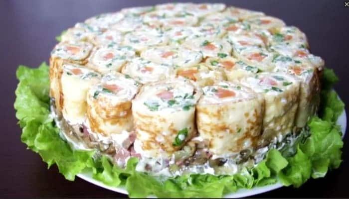 оригинальный салат пикантный