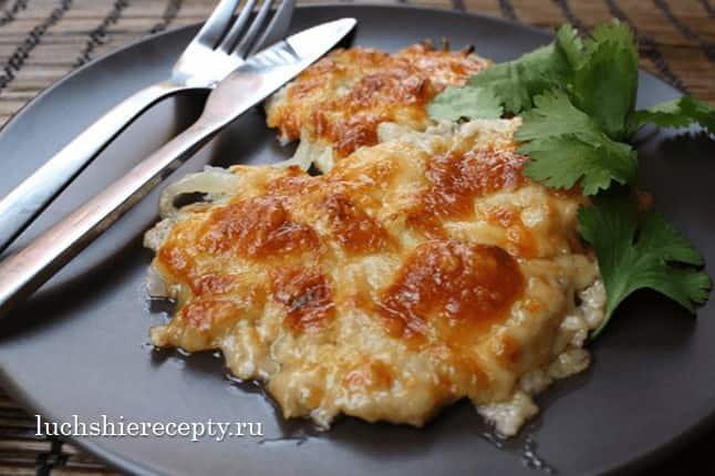 мясо по франц узки с картошкой