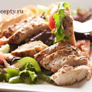 Салаты с курицей рецепты с фото простые и вкусные: 8 пошаговых рецептов