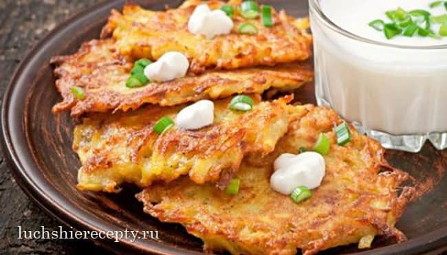 деруны из картошки рецепт