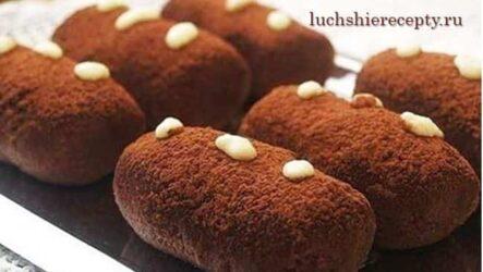 Пирожное Картошка Рецепт Классический в Домашних Условиях