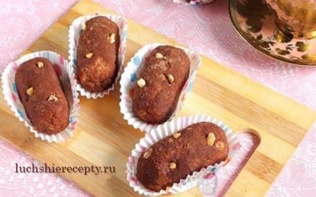 Вкусные пирожные Картошка - рецепт пошаговый с фото