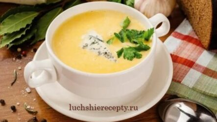 Сырный суп — 4 простых рецепта с плавленным сыром пошагово