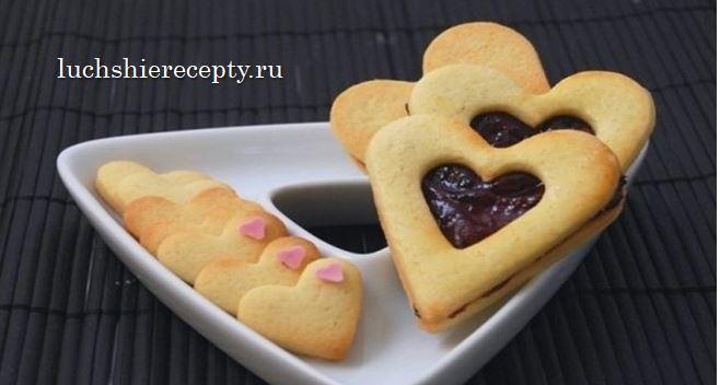 вкусное печенье на День Валентина