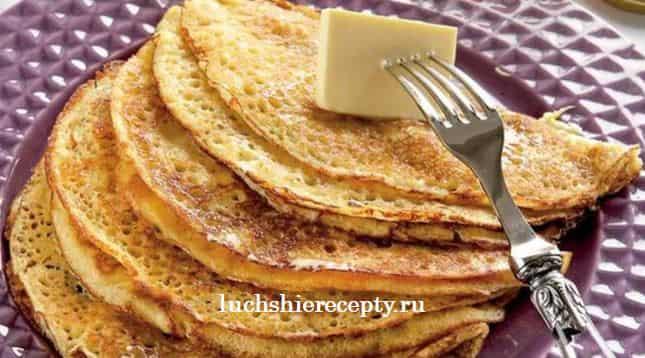Дрожжевые блины на молоке пышные рецепт с фото пошагово