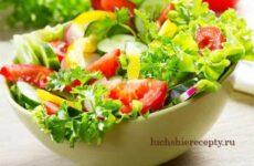 Салаты без Майонеза Простые и Вкусные – Рецепты Пошагово