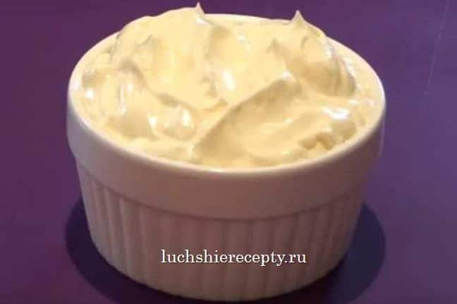 майонез в домашних условиях пошаговый рецепт с фото