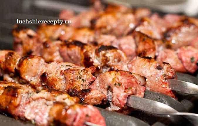 рецепт шашлыка на кефире из свинины
