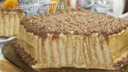 Торт Без Выпечки за 20 Минут Очень Сочный и Вкусный