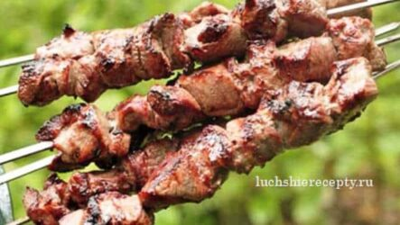 Шашлык из Свинины с Уксусом и Луком Очень Вкусный Рецепт