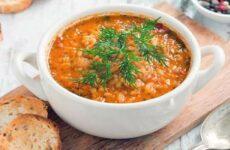 Суп Харчо из курицы с рисом - простой классический рецепт