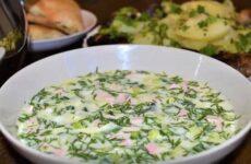 Окрошка на Айране с Колбасой - Вкусный Классический Рецепт