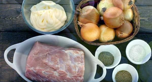 продукты для шашлыка в майонезе