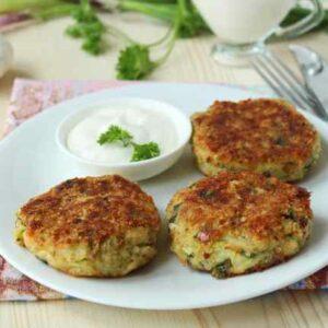 Котлеты из Кабачков и Картофеля Самый Вкусный Рецепт