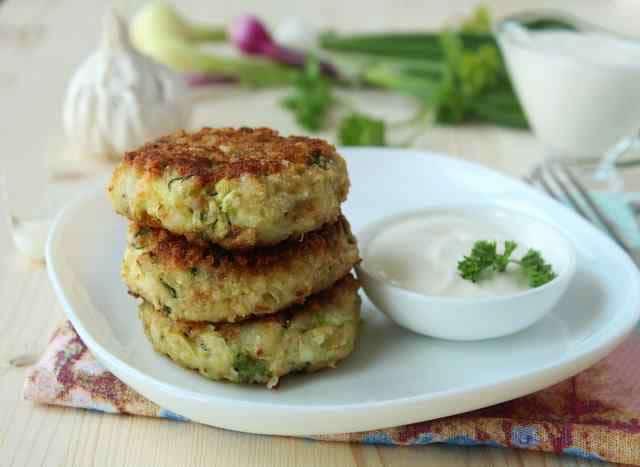 рецепт котлет из кабачков с картофелем