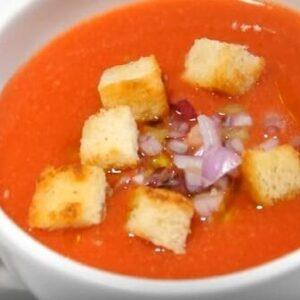 Холодный Томатный Суп Гаспачо - Рецепт в Домашних Условиях с Фото