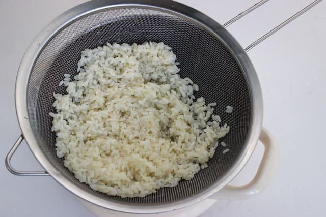 подготовим рис для фарша