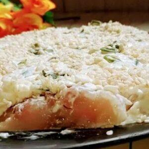 Закуска из Селёдки с Плавленным Сыром - Рецепт с Фото