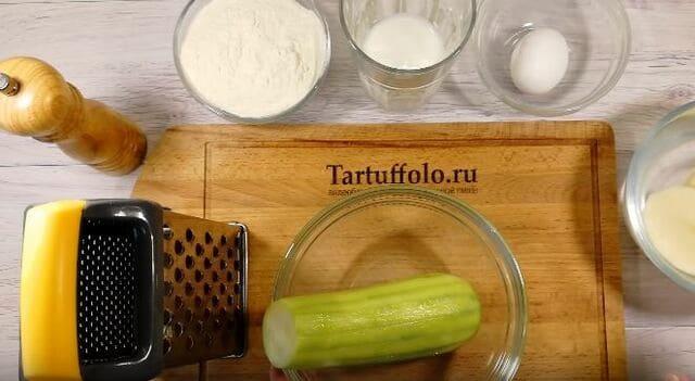 продукты для тортика из кабачка
