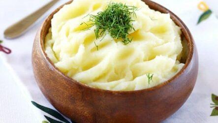 Картофельное пюре - рецепт с молоком и сливочным маслом без комочков