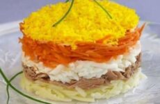 Салаты из рыбных консервов - 4 простых и вкусных рецепта с фото
