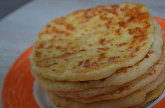 сырные лепёшки на кефире