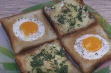Горячие бутерброды с яйцом и сыром: 3 вкусных и простых рецепта