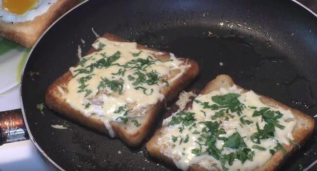 как сыр расплавится ломтики готовы