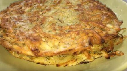 Картофельные лепешки на сковороде за 5 минут