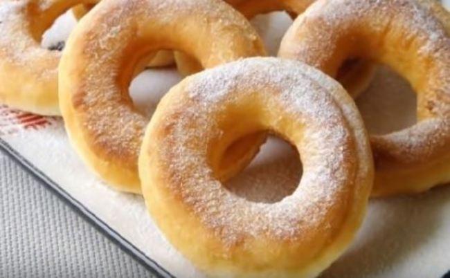 рецепт пышных пончиков на кефире