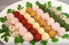 Закуска сырные шарики рецепт с фото пошагово