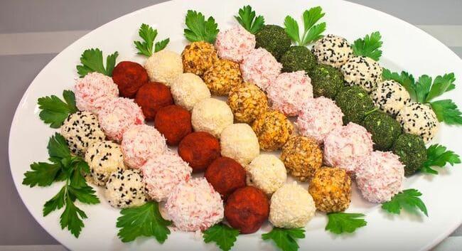 Сырные Шарики (4) Очень Простых Рецепта Закуски