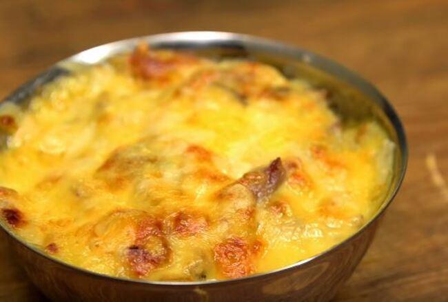 рецепт жульена – грибы с курицей и сыром в духовке