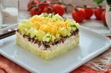 Салат Венеция сочный яркий и вкусный салатик с курицей