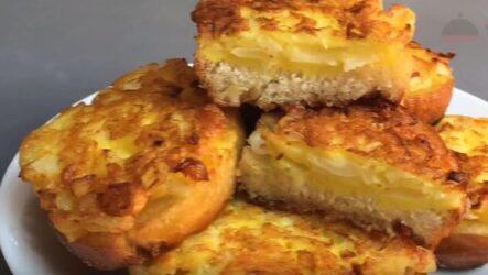 Луковые бутерброды рецепт на сковороде за 5 минут