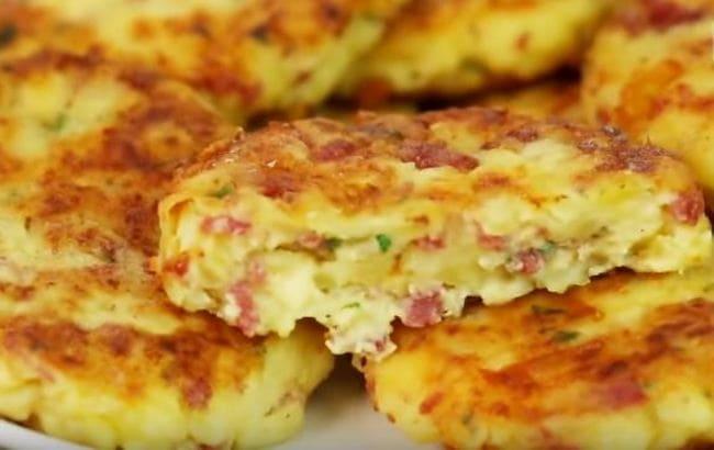 рецепт картофельных шницелей
