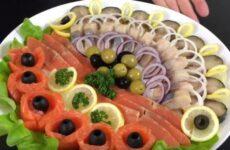 Рыбная нарезка на праздничный стол своими руками дома