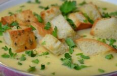 Суп пюре из кабачков быстрый и вкусный рецепт
