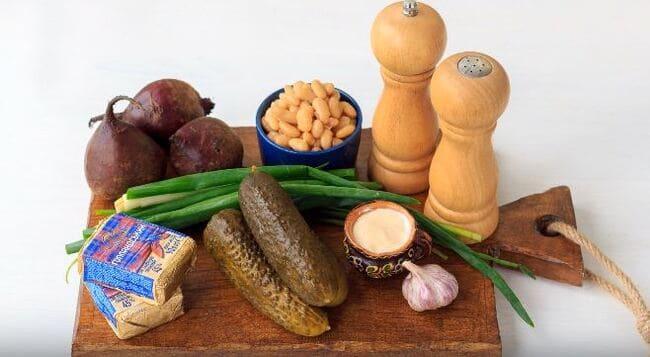 какие продукты на салат понадобятся