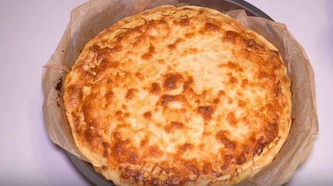 пирог из лаваша с творогом и сыром