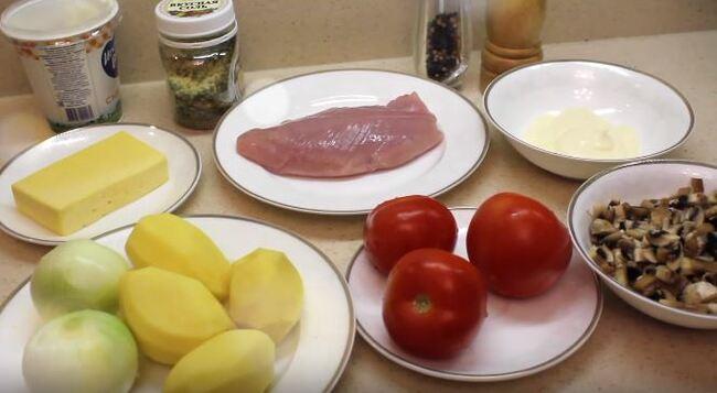 подготовим все необходимые продукты для рецепта