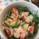 Салат с рукколой, авокадо и помидорами - очень легкий салатик
