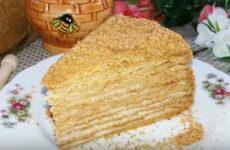 Торт Медовик классический рецепт в домашних условиях