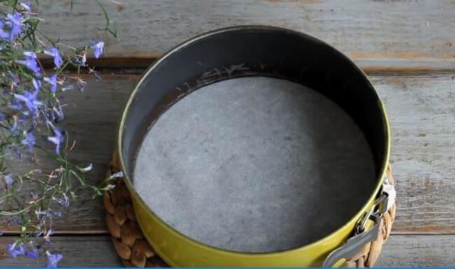 выпекаем бисквит в разъёмной форме