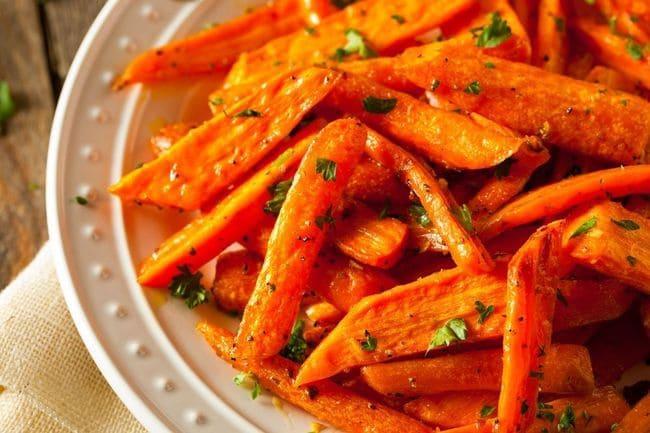 Запеченная морковь в духовке: рецепт Фри морковные палочки