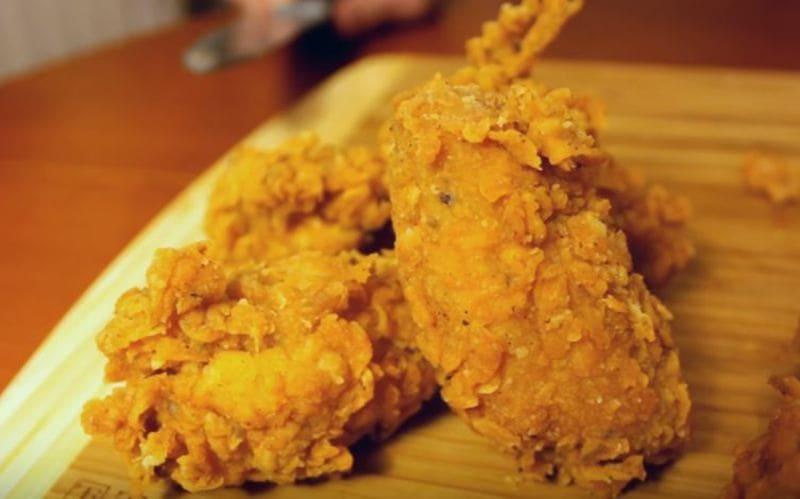 как приготовить крылышки как в KFC